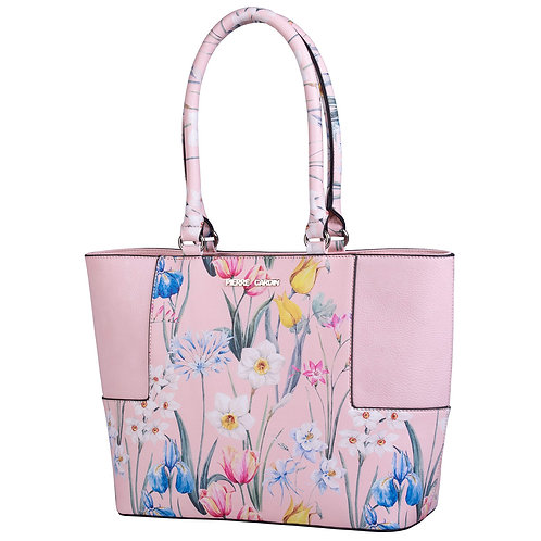 Pierre Cardin Brittany Tote Handbag - Pink