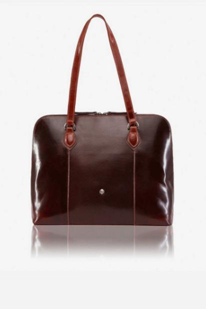 Jekyll & Hide Oxford Laptop Handbag - Tobacco