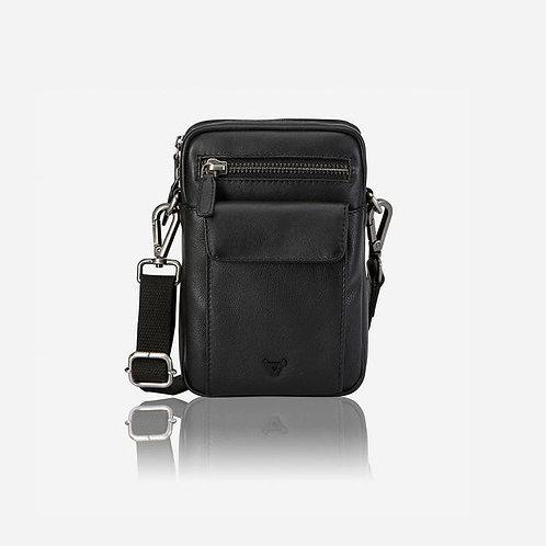 Brando Armstrong Aldrin Crossbody Travel Bag - Black