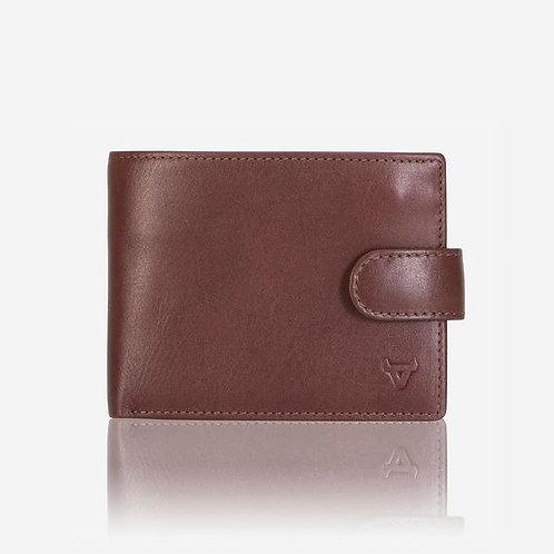 Brando Dakota Slim Card Wallet - Brown