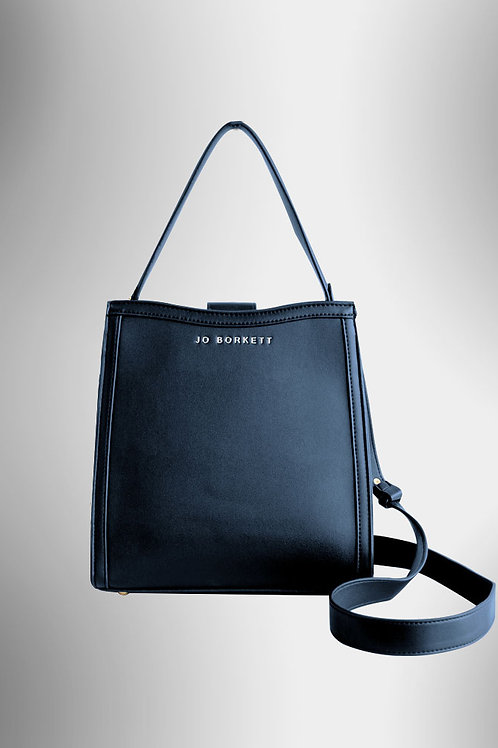 Jo Borkett Logo Tote Handbag - Navy