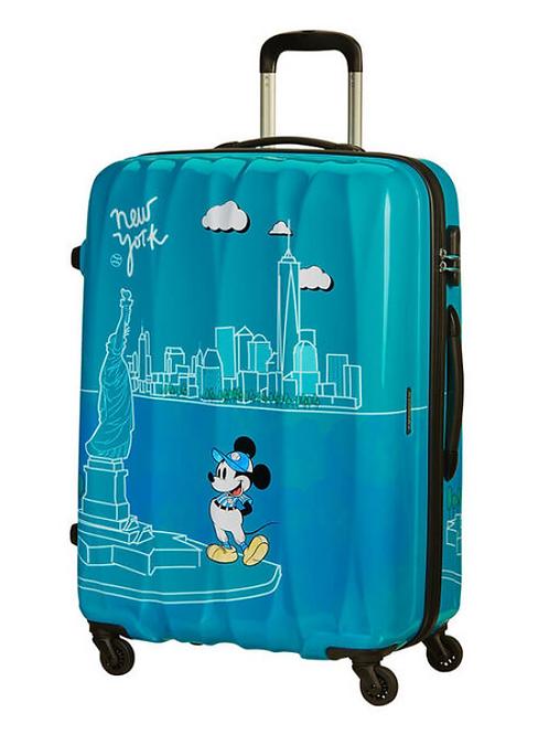American Tourister Disney Mickey New York Spinner Suitcase 65 cm