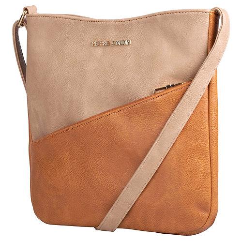 Pierre Cardin Bekah Crossbody Handbag - Tan