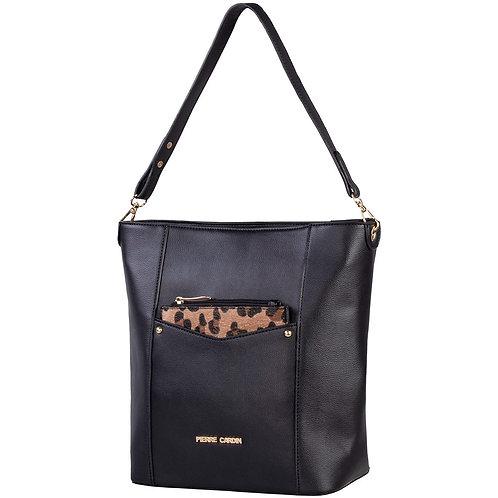 Pierre Cardin Denisha Bucket Handbag - Black