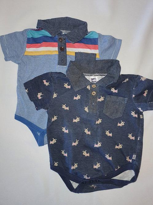 Boys Babygrows 0-3 months