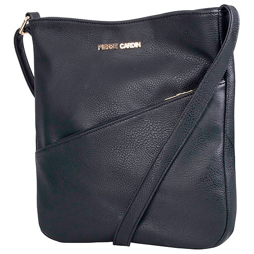 Pierre Cardin Bekah Crossbody Handbag - Black