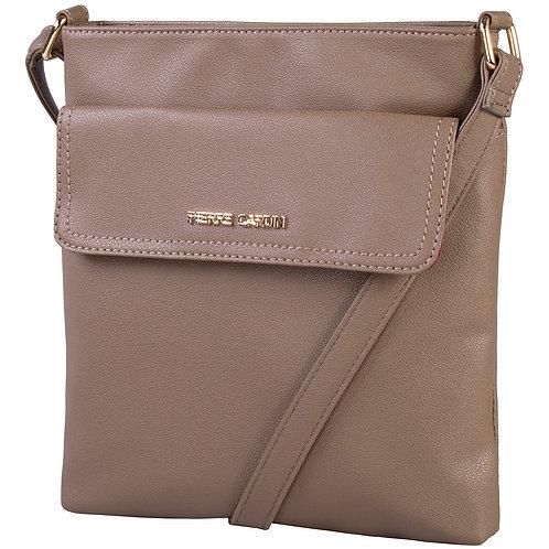 Pierre Cardin Ria Crossbody Handbag - Camel