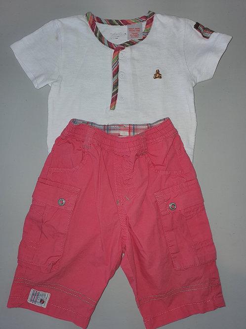 Baby Gap Babygrow & Miniman Shorts 12 months
