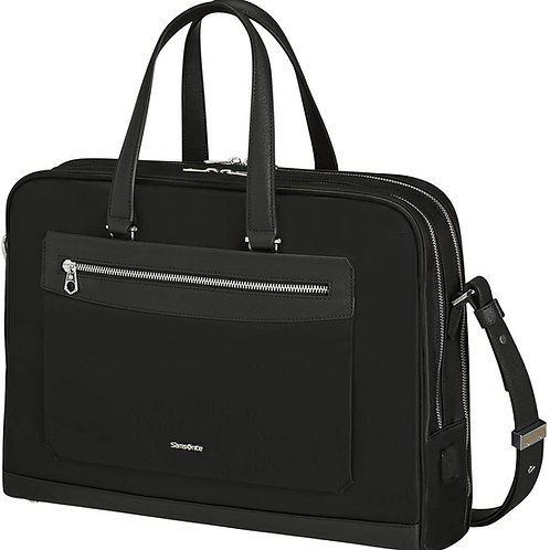Samsonite Zalia Bailhandle Ladies Laptop Briefcase 15.6 Inch - Black