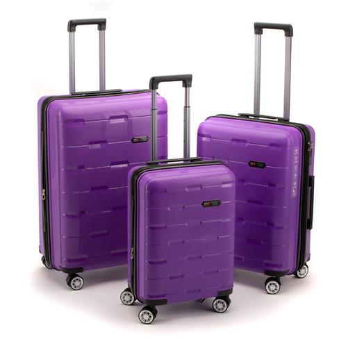 Roberto Tijorri Hard Case 3 Piece Set - Purple