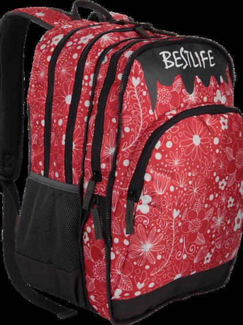 BestLife Campus 15.6 Laptop Backpack - Red