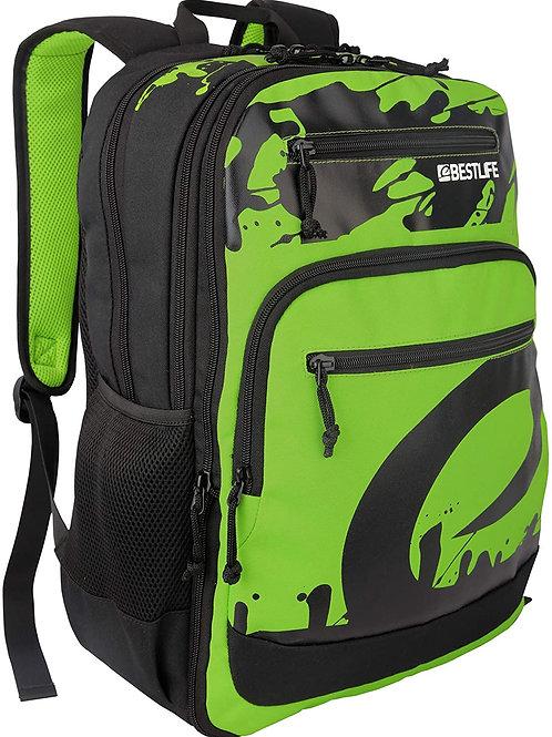 BestLife Campus 15.6 Inch Laptop Backpack - Green