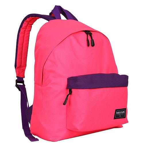 BestLife Campus Laptop Backpack - Pink