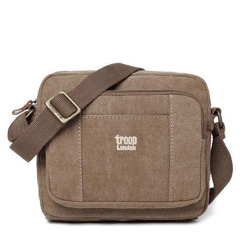 Troop Small Satchel Bag - Brown