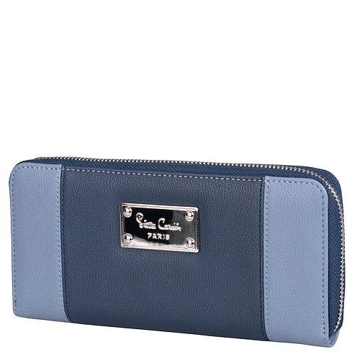 Pierre Cardin Brittany Zip Around Purse - Blue