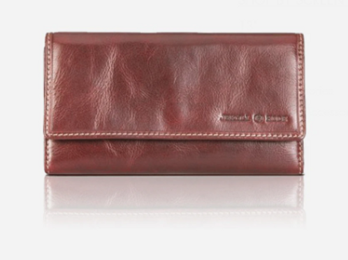 Jekyll & Hide Oxford Large Leather Purse - Brown