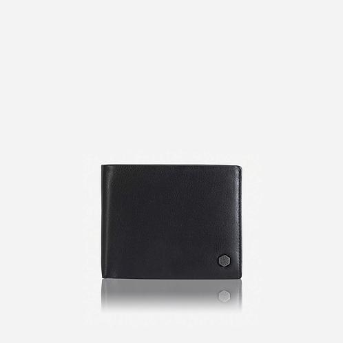 Jekyll & Hide Monaco Large Bifold Wallet - Black