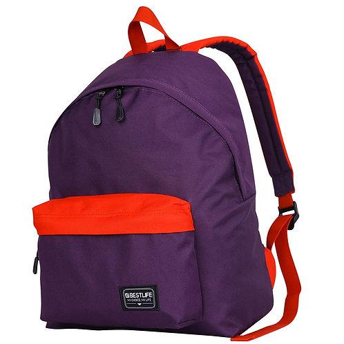 BestLife Campus Laptop Backpack - Purple