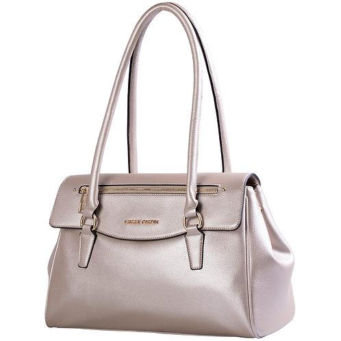 Pierre Cardin Tarah Top Handle Handbag - Champagne