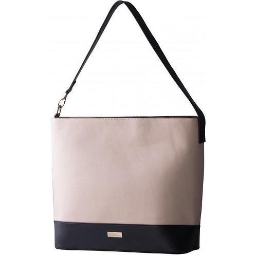 Pierre Cardin Hayley Handbag - Navy & Cream Two Tone