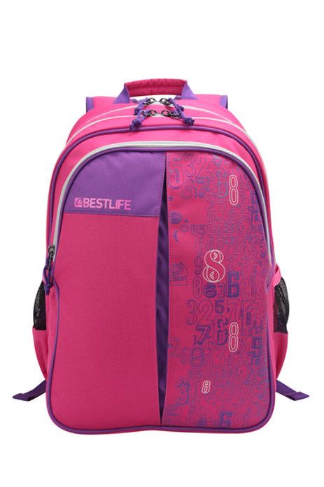 BestLife Campus Girls Backpack - Pink