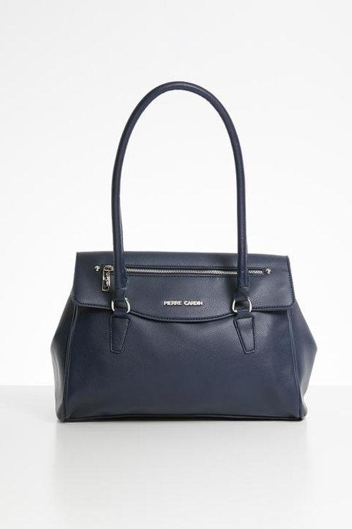 Pierre Cardin Tarah Top Handle Handbag - Navy