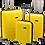 Thumbnail: Roberto Tijorri Hard Case 3 Piece Set - Yellow