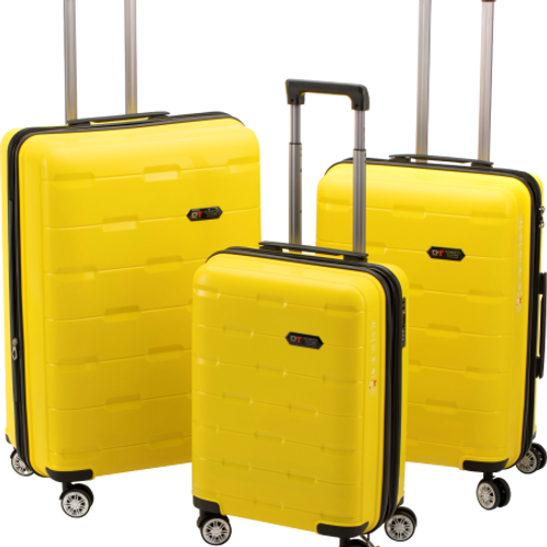 Roberto Tijorri Hard Case 3 Piece Set - Yellow