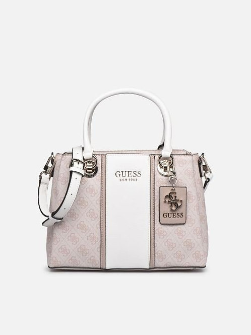 Guess Cathleen 3 Compartment Satchel - Blush
