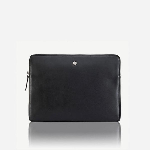 Jekyll & Hide New York Zip Around Laptop Folder  - Black