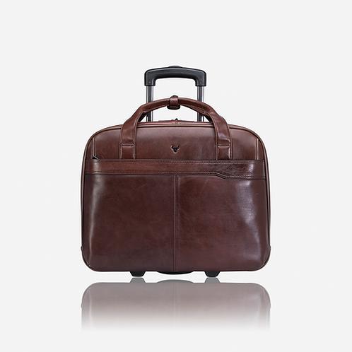 Brando Winchester Laptop/Overnight Trolley Bag - Brown