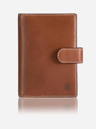 Jekyll & Hide Texas Passport Cover - Brown