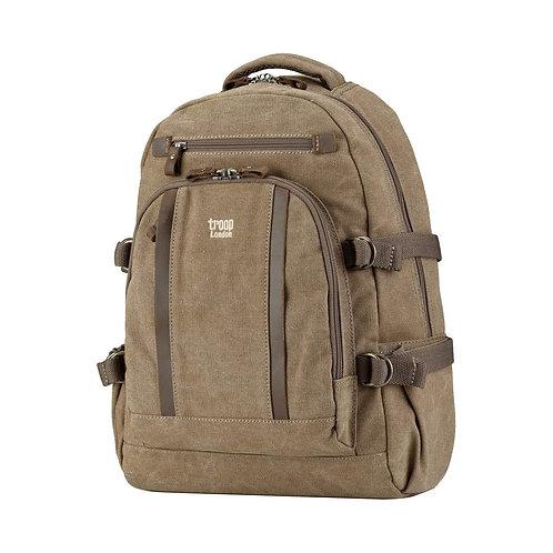 Troop Large Classic Laptop Backpack - Brown