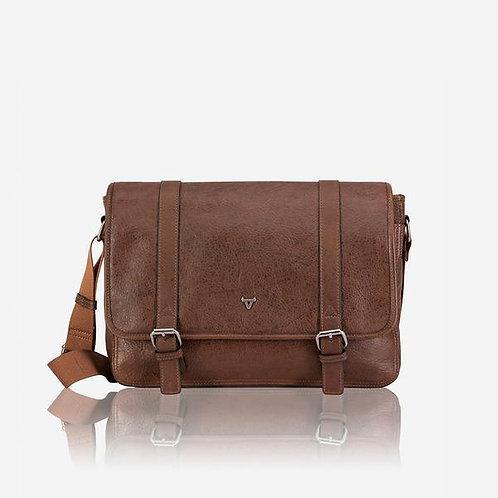 Brando Oryx Messenger Bag - Brown