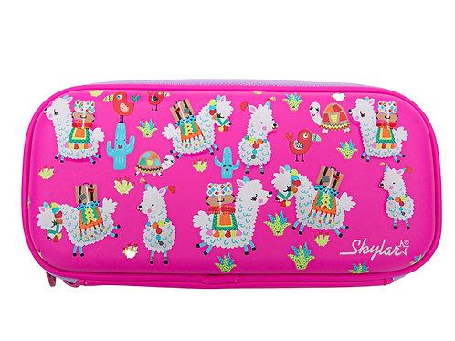 Skylar Lama Hard Shell Pencil Case