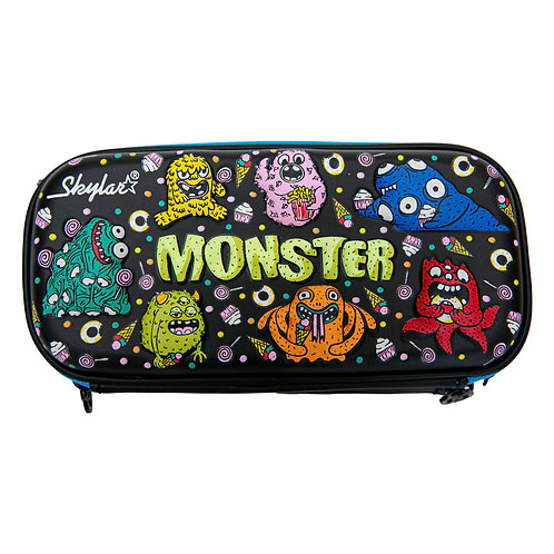 Skylar Monster Hard Shell Pencil Case