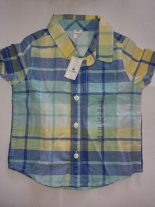 Baby Gap Short Sleeve Shirt 18-24 months