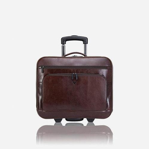 Brando Winchester 15 Inch Laptop Trolley Bag - Brown