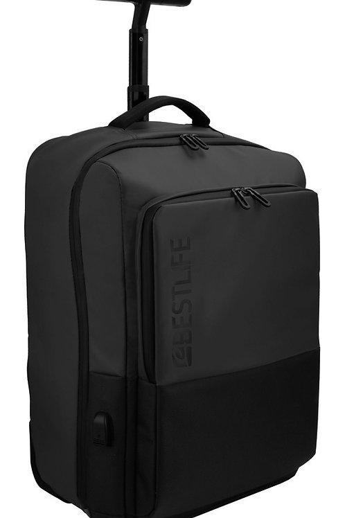 BestLife Mochila Neoton Trolley Backpack - Black