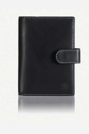 Jekyll & Hide Texas Passport Cover - Black