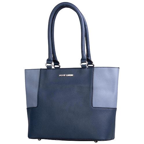Pierre Cardin Brittany Tote Handbag - Navy