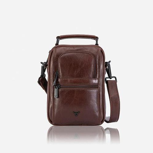 Brando Winchester Gen's Bag With Top Handle - Brown