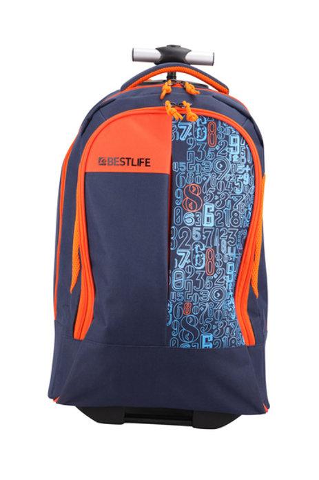 BestLife Campus Trolley Backpack - Navy
