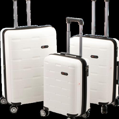 Roberto Tijorri Hard Case 3 Piece Set - White