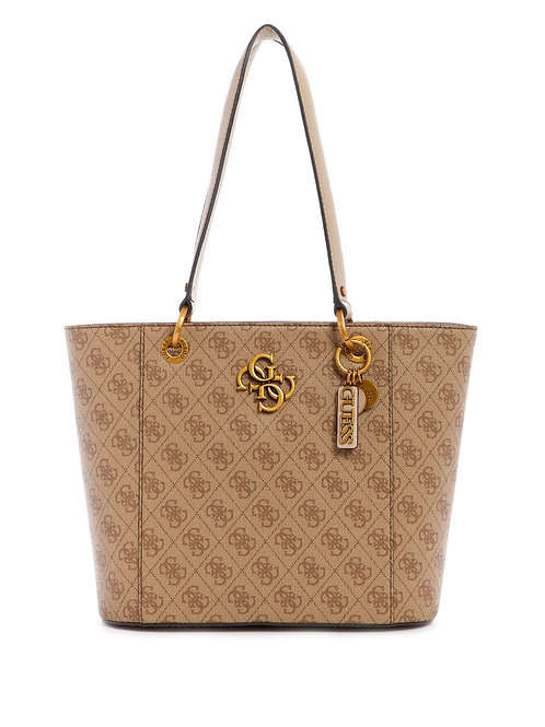 Guess Noelle Small Elite Tote - Latte