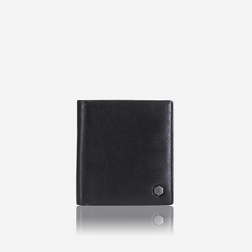 Jekyll & Hide Monaco Slim Bifold Cardholder Wallet - Black