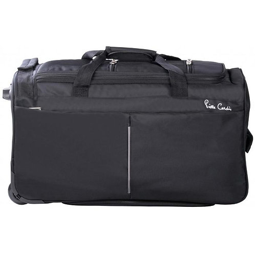 Pierre Cardin 66 cm Trolley Duffel Bag - Black