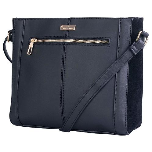 Pierre Cardin Tabby Crossbody Handbag - Black
