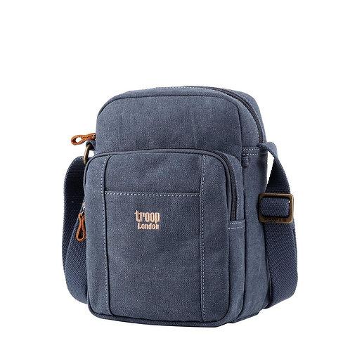 Troop Small Front Pouch Shoulder  Bag - Blue