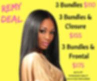 🗣🗣🗣Remy Deal is Back❗❗_3 Bundles $110